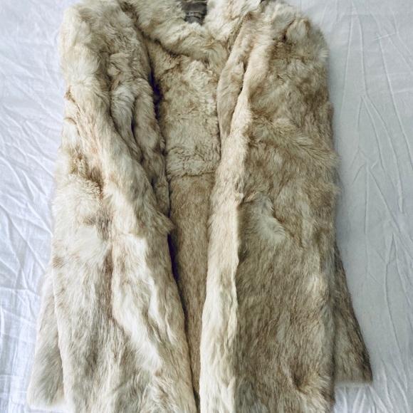The Membership Jackets & Blazers - Vintage Winter White Fur Coat